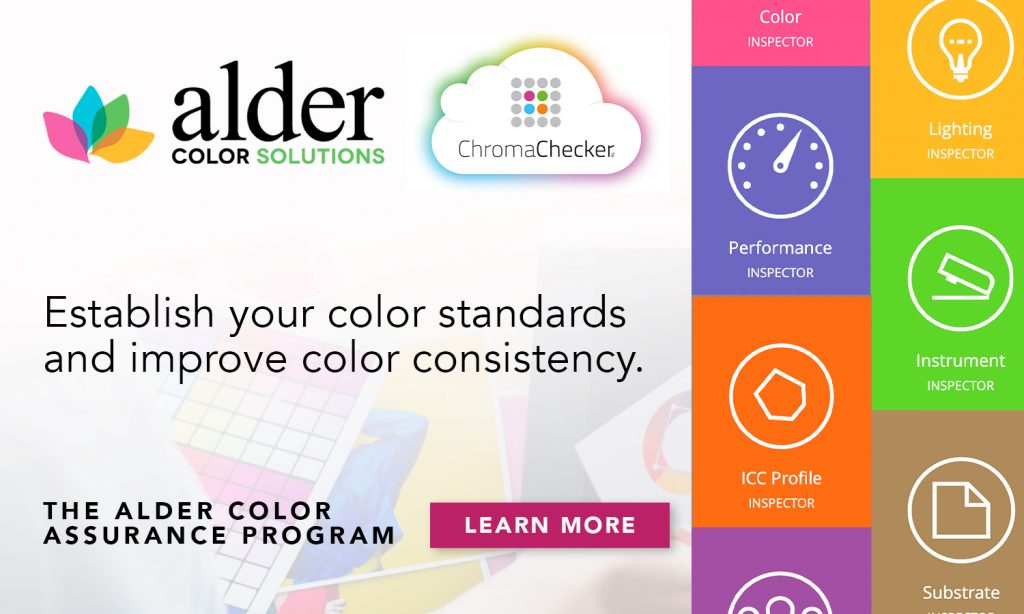 ChromaChecker X Alder Color Assurance Program